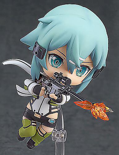 povoljno Maske i kostimi-Anime Akcijske figure Inspirirana Cosplay Shino PVC 10 cm CM Model Igračke Doll igračkama