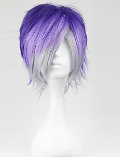 povoljno Maske i kostimi-Diabolik Ljubitelji Sakamaki Kanato Cosplay Wigs Muškarci 12 inch Otporna na toplinu vlakna Anime