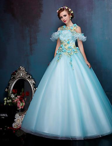 18999 Princesa Vestido De Boda Vestidos Novia En Color Hasta El Suelo Tirantes Encaje Organza Tul Conapliques Cuentas Cristal Bordado