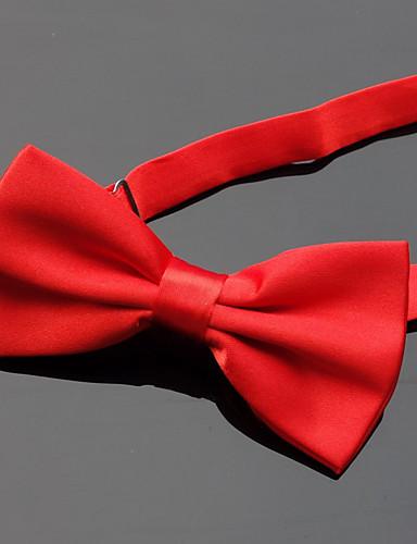 זול עניבות ועניבות פרפר לגברים-עניבת פפיון - אחיד מסיבה / בסיסי בגדי ריקוד גברים