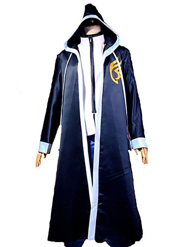 povoljno Maske i kostimi-Inspirirana Fairy Tail Gerard Fernandes Anime Cosplay nošnje Japanski Cosplay Suits Kolaž Dugih rukava Plašt / T-majica Za Muškarci / Saten