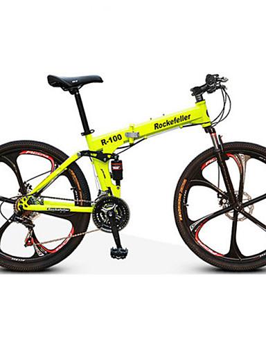 povoljno Biciklizam-Mountain Bike / Folding bicikle Biciklizam 21 Brzina 26 inča / 700CC Dvostruka disk kočnica Suspension Fork Stražnja suspenzija Anti-Slip Aluminijska legura / Čelik / Da / #