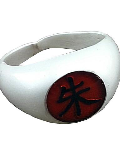 povoljno Maske i kostimi-Jewelry Inspirirana Naruto Itachi Uchiha Anime Cosplay Pribor prsten Legura Muškarci Žene vruć Noć vještica