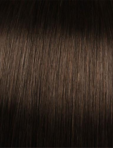 abordables Pelucas de Cabello Natural-Peluca Pelo Natural Hecho a Máquina Integral sin Pegamento Cabello Brasileño Ondulado Grande Con flequillo Mujer Densidad 130% 150% 180% con pelo de bebe Entradas Naturales Peluca afroamericana Atado