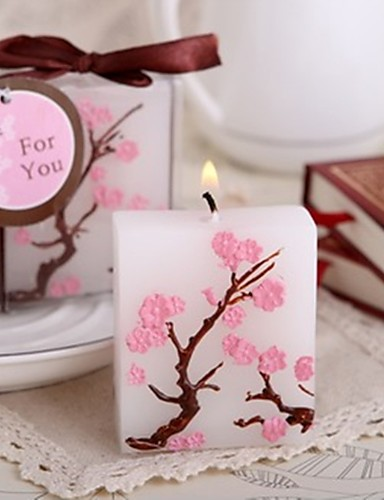 preiswerte Spezial Angebote-Asiatisch / Klassisch / Märchen Kerzengeschenke - 1pcs Kerzen Geschenkbox Frühling / Sommer / Herbst