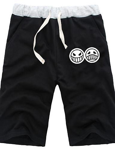 povoljno Maske i kostimi-Inspirirana One Piece Kec Anime Cosplay nošnje Japanski Cosplay Tops / Bottoms Jednobojni Kratke hlače Za Muškarci