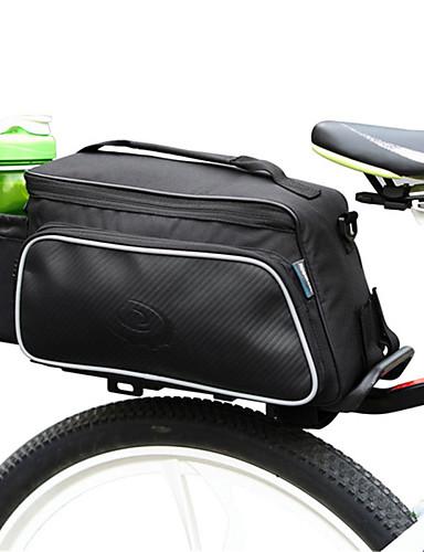 povoljno Biciklizam-ROSWHEEL 10 L Bike Trunk Bags Vodootporno Podesan za nošenje Otpornost na udarce Torba za bicikl Tkanina Poliester PVC Torba za bicikl Torbe za biciklizam Biciklizam / Bicikl