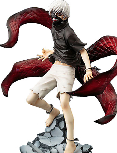 cheap Anime Cosplay-Anime Action Figures Inspired by Tokyo Ghoul Ken Kaneki PVC(PolyVinyl Chloride) 23 cm CM Model Toys Doll Toy