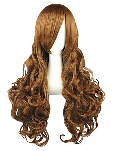 povoljno Anime cosplay-Cosplay Wigs Hetalia Elizabeta Anime Cosplay Wigs 90 CM Otporna na toplinu vlakna Muškarci Žene