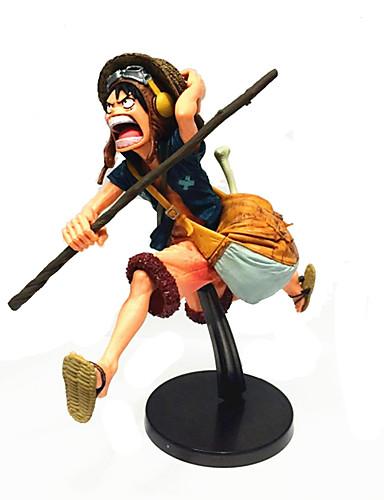 povoljno Maske i kostimi-Anime Akcijske figure Inspirirana One Piece Monkey D. Luffy PVC CM Model Igračke Doll igračkama Muškarci Dječaci Djevojčice