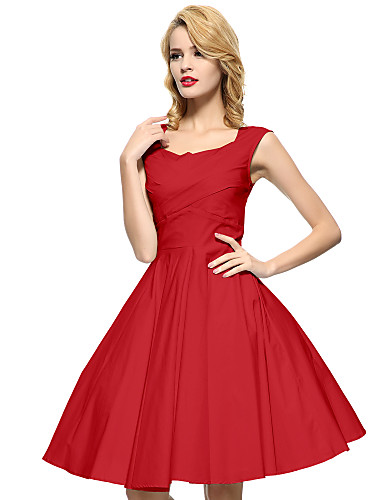 red swing dress plus size maggie tang women s black red blue 50s vintage swing midi