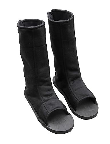 preiswerte Anime-Cosplay-Schuhe-Cosplay Stiefel Naruto Boruto Anime Cosplay Schuhe Terylen Herrn / Damen Halloween Kostüme