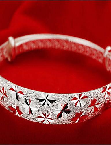 povoljno Narukvice od sterling srebra-Žene Nakit za gležanj dame Azijski Moda Talijanski Plastika Narukvica Nakit Pink Za Božićni pokloni