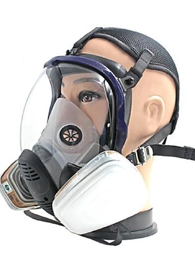 preiswerte Elektronik & Werkzeuge-die Gasmaske Maske große kugelförmige Kieselgel-chemischen Anti Feuer Formaldehyd Gasmaske sprühen