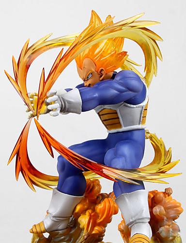 povoljno Maske i kostimi-Anime Akcijske figure Inspirirana Dragon Ball Vegeta PVC CM Model Igračke Doll igračkama Muškarci