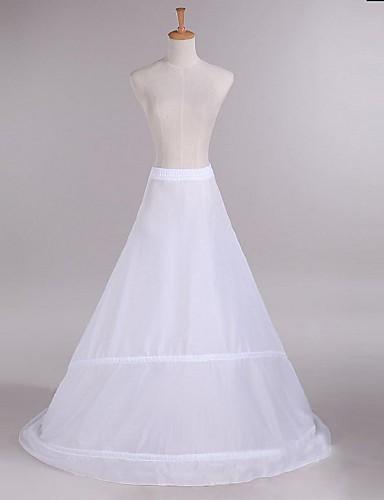 preiswerte Unterröcke für Hochzeitskleider-Hochzeit Unterhosen Taft Bodenlänge A-Linie mit
