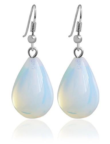 preiswerte Hochzeiten & Feste-Damen Tropfen-Ohrringe Kreolen Modisch Ohrringe Schmuck Transparent Für Hochzeit Party 1pc