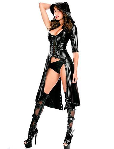 billige Sexy Uniformer-Herre Dame Cosplay Sexy Uniformer Flere Uniformer Kjønn Zentai Drakter Cosplay Kostumer Party-kostyme Ensfarget Trikot / Heldraktskostymer / Catsuit / Catsuit