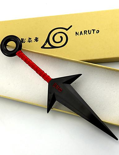 povoljno Anime cosplay dodaci-Inspirirana Naruto Naruto Uzumaki Anime Cosplay Pribor PVC Muškarci novi vruć Noć vještica