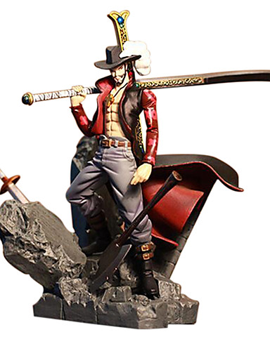 povoljno Maske i kostimi-Anime Akcijske figure Inspirirana One Piece Dracula Mihawk PVC 15 cm CM Model Igračke Doll igračkama / lik / lik