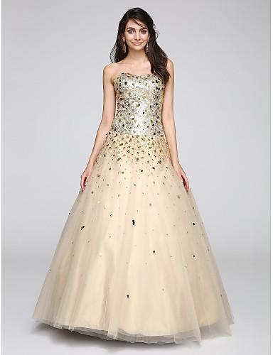 baa30577833b Βραδινή τουαλέτα Καρδιά Μακρύ Τούλι Φανταχτερό Κοκτέιλ Πάρτι   Χοροεσπερίδα    Επίσημο Βραδινό Φόρεμα με Πούλιες με TS Couture® 5027954 2019 –  134.99