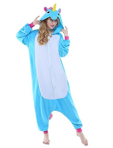 59a9bc367e58 Adults  Kigurumi Pajamas Unicorn Flying Horse Animal Onesie Pajamas Polar  Fleece Blue   Yellow+Blue   White+Gray Cosplay For Men and Women Animal  Sleepwear ...