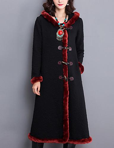 Casual hétköznapi Vintage Téli-Női Kabát 91e9d1d07e
