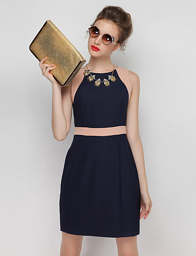 bc78feabe28d Γυναικεία Επίσημα Απλό Θήκη Φόρεμα