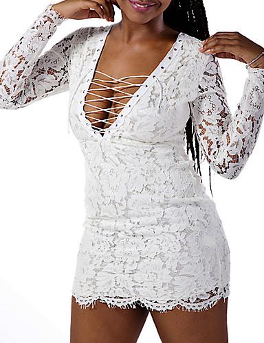 Mujer Corte Bodycon Vestido Noche   Fiesta Cóctel   Discoteca Sexy   Simple d25d24d399b2