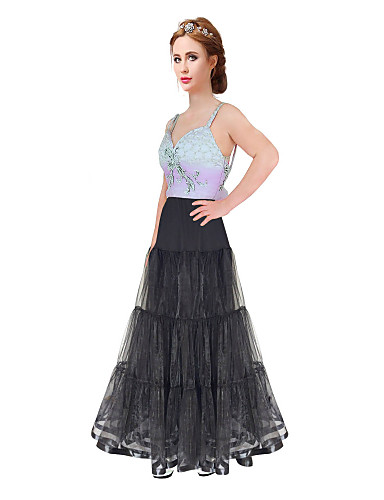 cheap Wedding Slips-Wedding / Special Occasion / Party / Evening Slips Organza / Satin / Tulle Floor-length A-Line Slip / Classic & Timeless with