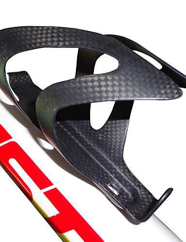preiswerte Fahrrad Zubehör-Fahhrad Flaschenhalter Kohlefaser Tragbar Leicht tragbar Wasserdicht Langlebig Für Radsport Rennrad Geländerad BMX TT Kunstrad Kohlefaser Schwarz 1 pcs