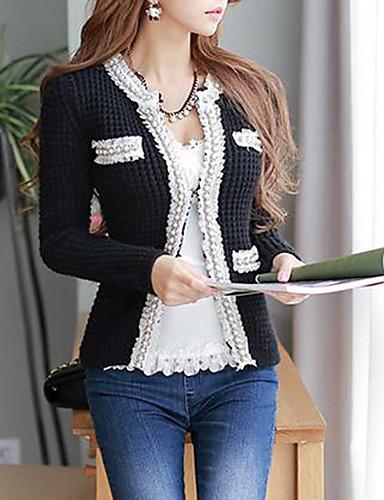dabuwawa női divat horgolt gallér kötött kardigán 2301266 2019 –  24.14 b69d1e74e2