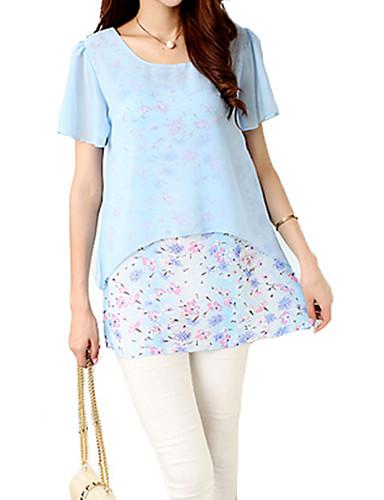 63eb4976bfc7 Γυναικεία Μπλούζα Εξόδου Απλό   Κομψό στυλ street Στάμπα