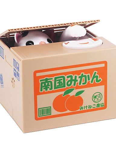 preiswerte Spielzeug & Hobby Artikel-Itazura Spardosen Münz Bank Klauende Spardose Elektrisch Katze ABS 1 pcs Erwachsene Jungen Mädchen Spielzeuge Geschenk