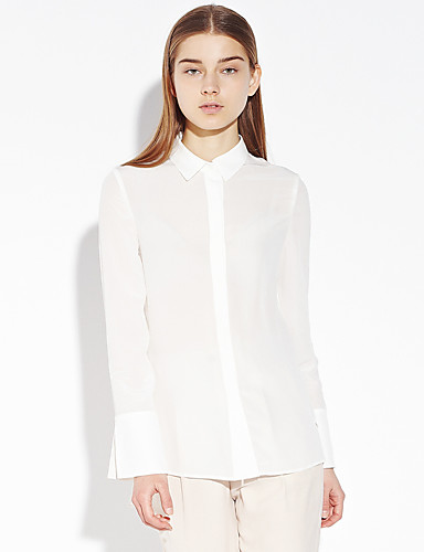 Mujer Sofisticado Encaje Camisa 1fd15416371