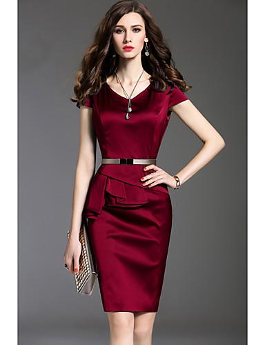 Vestidos en color rojo y negro