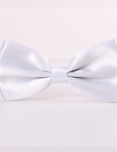 זול עניבות ועניבות פרפר לגברים-עניבת פפיון - אחיד מסיבה / עבודה / בסיסי בגדי ריקוד גברים