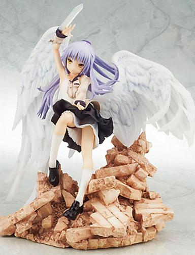 povoljno Maske i kostimi-Anime Akcijske figure Inspirirana AngelBeats Kanade Tachibana PVC 22 cm CM Model Igračke Doll igračkama