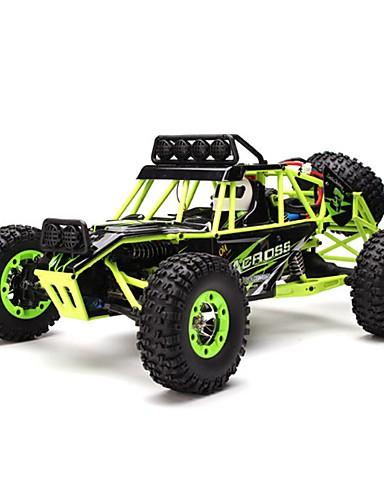 preiswerte Spielzeug & Hobby Artikel-RC Auto WLtoys 12428 2.4G Buggy (stehend) / Klettern Auto / Off Road Auto 1:12 Bürster Elektromotor 50 km/h Fernbedienungskontrolle / Wiederaufladbar / Elektrisch