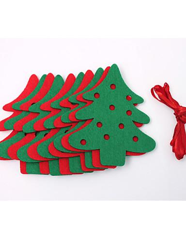 preiswerte Hängende Weihnachtsdekoration-Urlaubsdekoration Tiere Verzierungen / Weihnachtsflaggen Party / Halloween / Weihnachten Regenbogen
