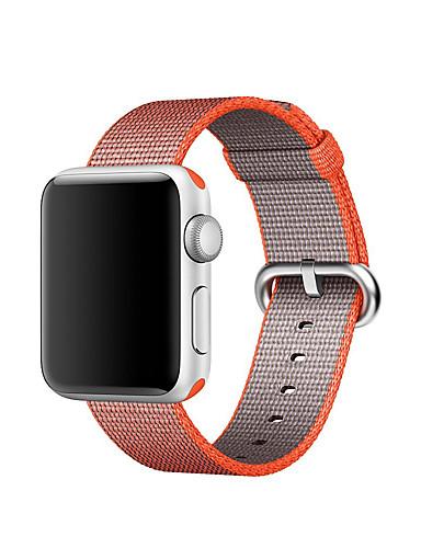 Klokkerem til Apple Watch Series 5/4/3/2/1 Apple Klassisk spenne Nylon Håndleddsrem