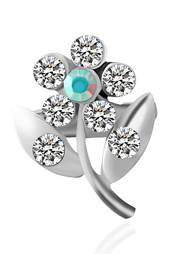 cheap Clearance-Women's Brooches Fashion Inspirational Brooch Jewelry Silver For Wedding