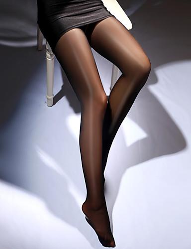 สำหรับผู้หญิง Sexy ถุงน่อง - สีพื้น บาง แดง สีชมพู ไวน์ ขนาดเดียว