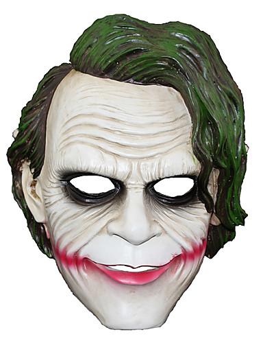 povoljno Maske i kostimi-Mask Inspirirana Burlesque / Klaun Džoker Klaun Halloween Karneval New Year Muškarci Žene