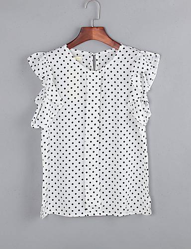 8c907904159e Γυναικεία Μπλούζα Καθημερινά Κομψό στυλ street Πουά