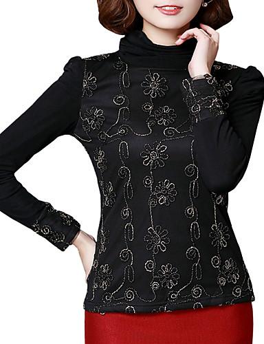 21eee6321346 Γυναικείο Μπλούζα Μεγάλα Μεγέθη Απλό Patchwork