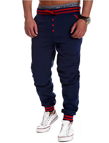 Hombre Activo Algodón Corte Recto   Activo   Pantalones de Deporte  Pantalones - Un Color   Deportes   Fin de semana 5404387 2019 –  15.29 d2dfdf46cbb8