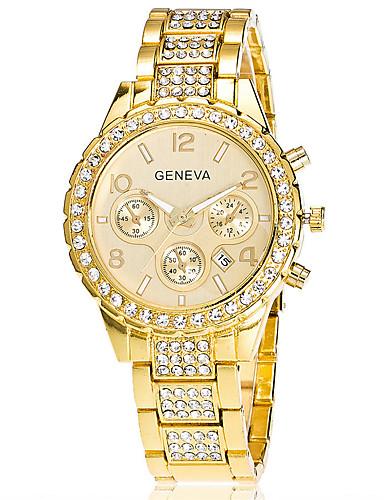 Xu™ สำหรับผู้หญิง นาฬิกาข้อมือ นาฬิกาอิเล็กทรอนิกส์ (Quartz) สแตนเลส เงิน / ทอง / Rose Gold ปฏิทิน วันที่ ระบบอนาล็อก วินเทจ ไม่เป็นทางการ แฟชั่น - สีทอง สีเงิน Rose Gold / หนึ่งปี / SSUO LR626