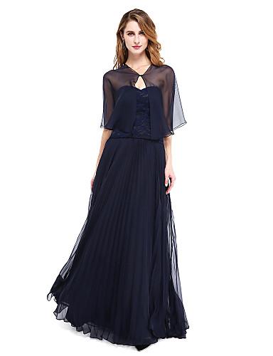 cheap Wedding Wraps-Shrugs Organza Wedding / Party Evening Women's Wrap With Button