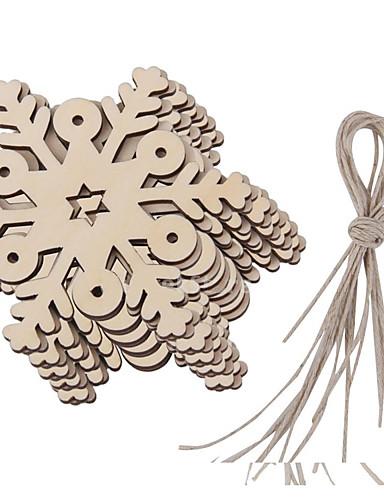 preiswerte Weihnachtsparty Utensilien-Verzierungen Holz Hochzeits-Dekorationen Weihnachten Winter